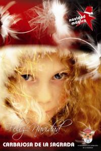 Cartel navideño de Carbajosa