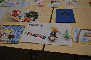 Postales navideñas del concurso