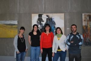 Artistas de la exposición