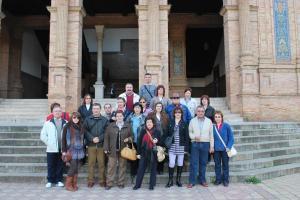 Participantes en el viaje Sevilla