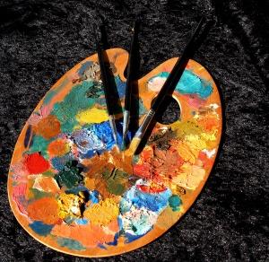 Paleta de pintura