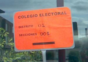 Colegio electoral San Cristóbal de la Cuesta
